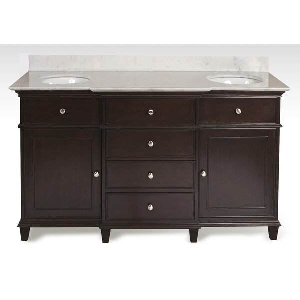 Harpe 61 Double Bathroom Vanity Set by Darby Home Co