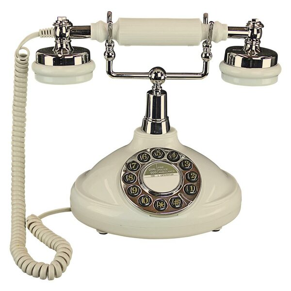 Brittany 1929 Rotary Telephone by Design Toscano