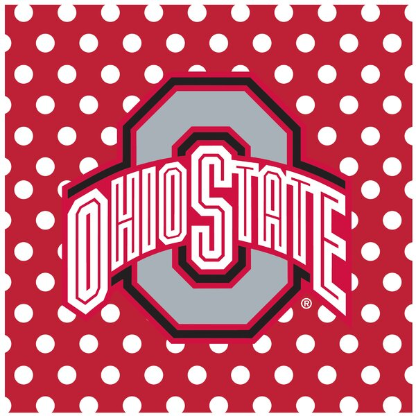 Ohio State University Square Occasions Trivet by Thirstystone