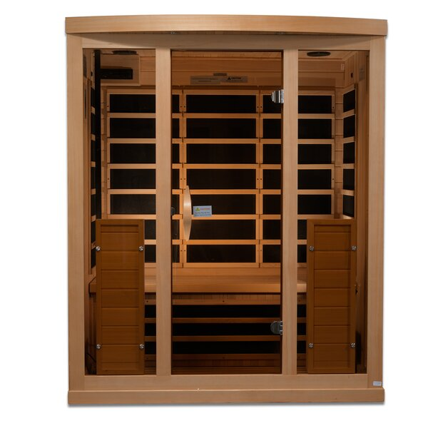 Full Spectrum 3 Person FAR Infrared Sauna by Golden Designs
