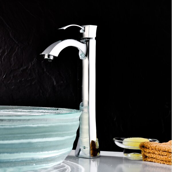 Harmony Vessel Sink Faucet with Drain Assembly by ANZZI