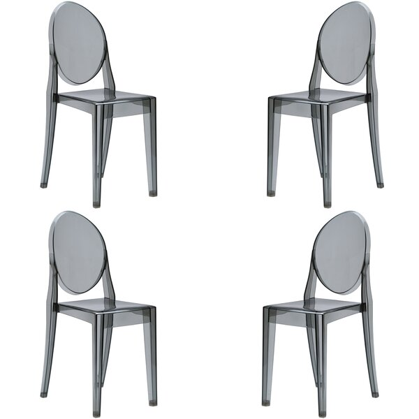 Bentlee Patio Dining Chair (Set of 4) by Everly Quinn