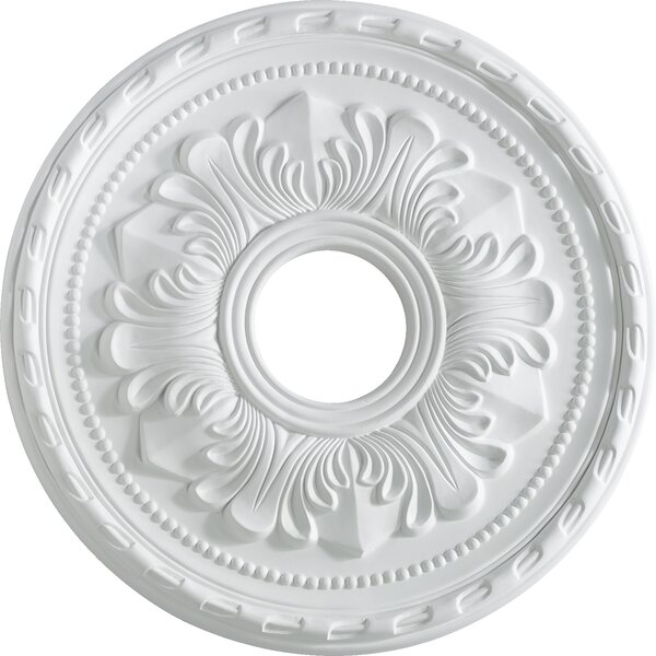 17 Ceiling Medallion in Studio White by Quorum