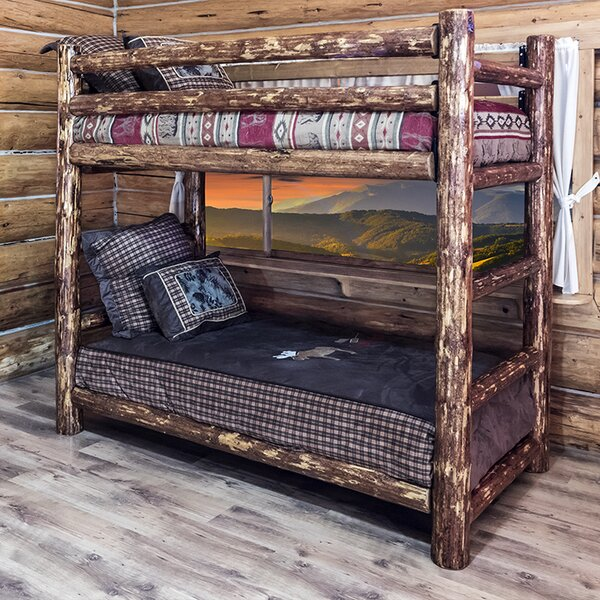 Tustin Twin over Twin Bunk Bed by Loon Peak