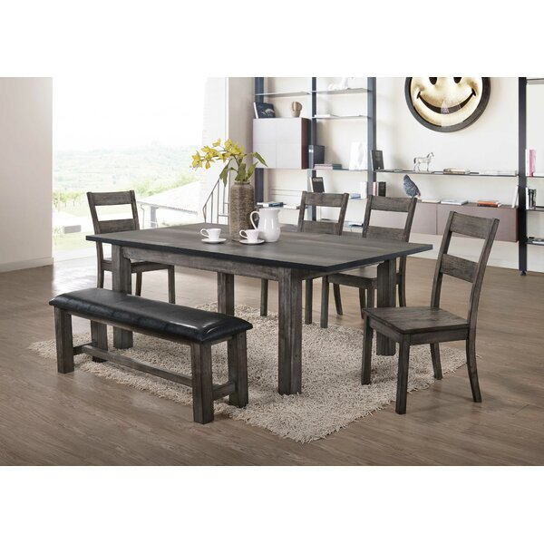 Okamoto 6 Piece Dining Set by Loon Peak Loon Peak