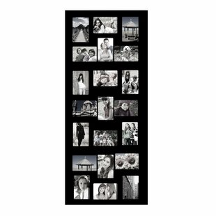 Jaynes 21 Opening Wooden Photo Collage Wall Hanging Picture Frame