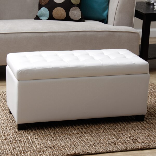 Malm Upholstered Storage Bench by Charlton Home Charlton Home
