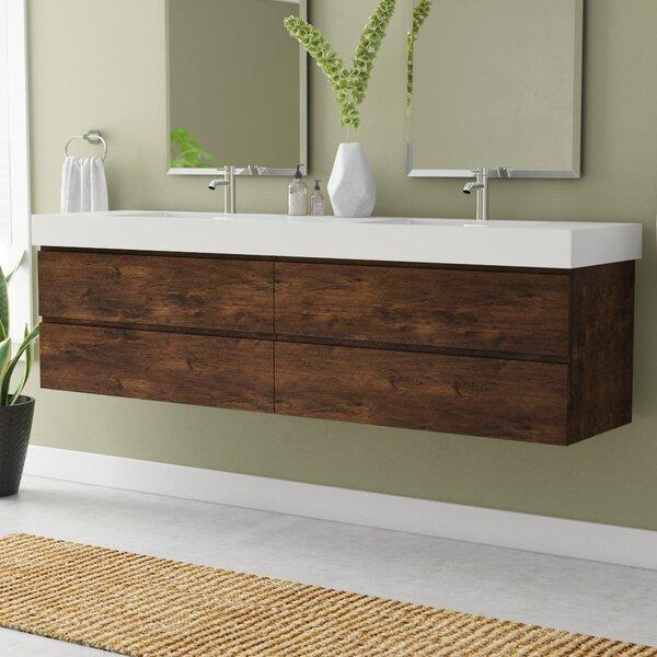 Sinope 79 Wall-Mounted Double Bathroom Vanity Set