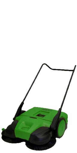Deluxe Triple Brush Push Power Sweeper by Bissell BigGreen Commercial