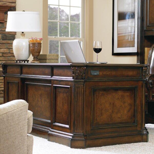 European Renaissance II Kneehole Executive Desk by Hooker Furniture