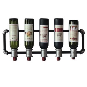 5 Bottle Wall Mounted Wine Rack by Trent Austin Design