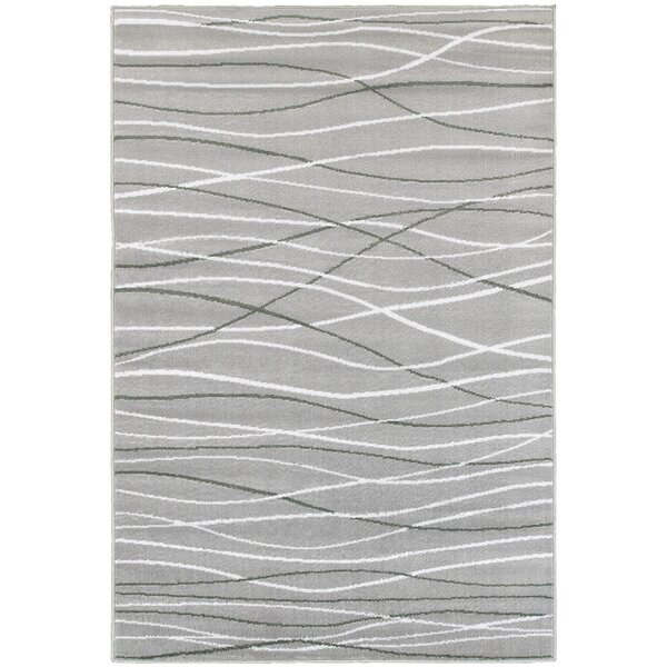 Penelope Grey/white/black Area Rug by Zipcode Design