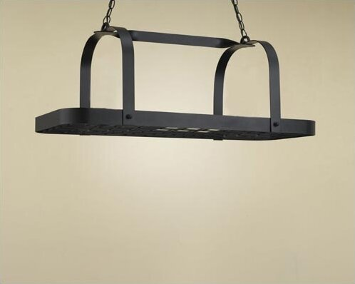 Baker Rectangular Hanging Pot Rack by Hi-Lite