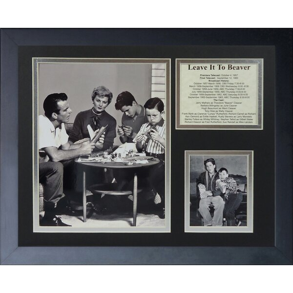 Leave it Framed Photographic Print by Legends Never Die