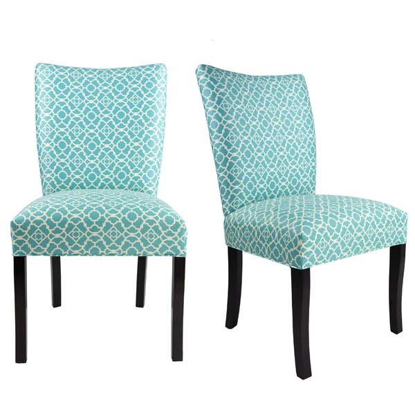 Knowlson Upholstered Dining Chair (Set of 2) by Rosecliff Heights Rosecliff Heights