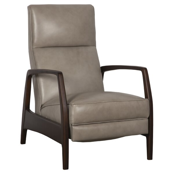 Ansleigh Leather Manual Recliner By Fairfield Chair