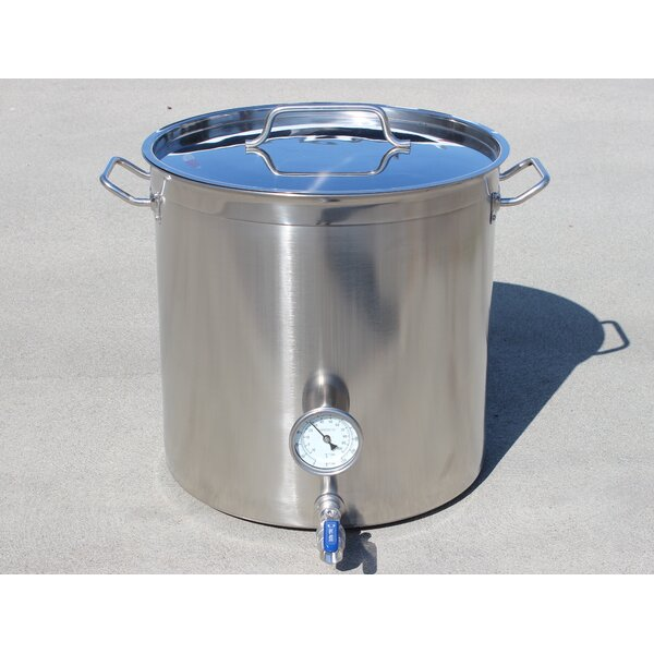 Stainless Steel Home Brew Kettle Stock Pot by Concord Cookware