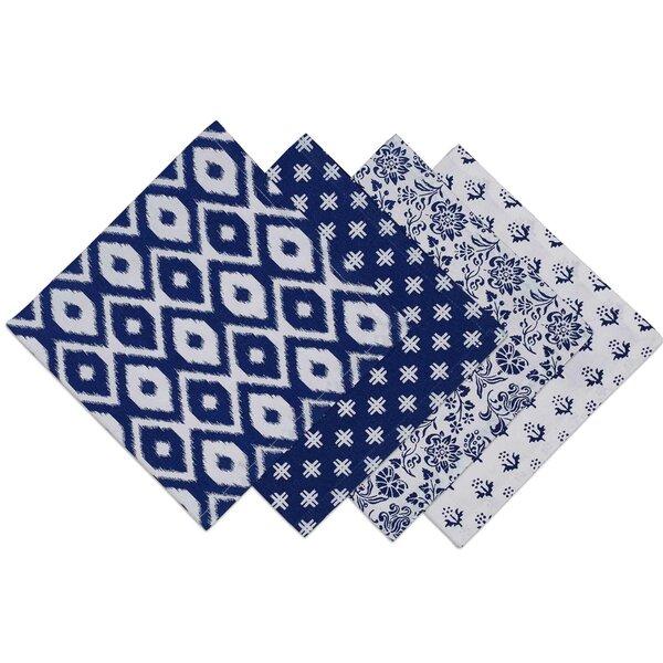 Blue Prints Napkin (Set of 4) by Design Imports