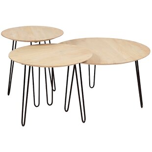 Northwick 3 Piece Coffee Table Set
