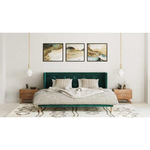 Glynn Upholstered Platform Bed by Everly Quinn