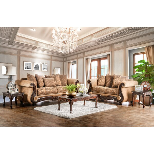 Destanee Configurable Living Room Set by World Men
