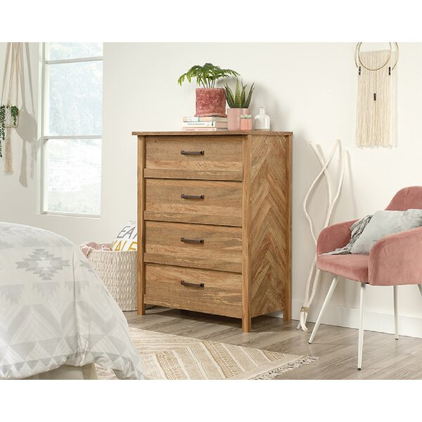 Canalou 4 Drawer Chest by Foundry Select