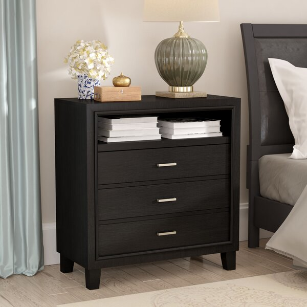 Weatherspoon 3 Drawer Media Chest by Charlton Home