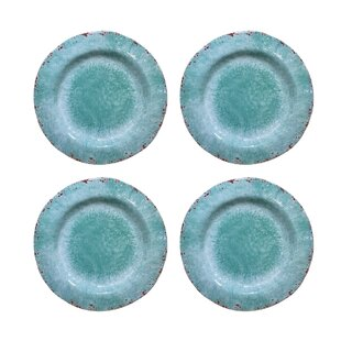 Mcgarvey Vintage Melamine Dinner Plate (Set of 4)  sc 1 st  Wayfair & Vintage Dinner Plates | Wayfair