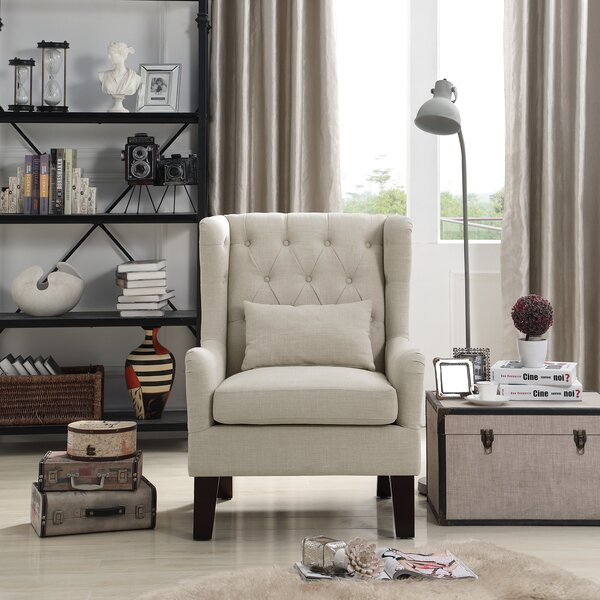 Katelyn Wingback Chair by iNSTANT HOME