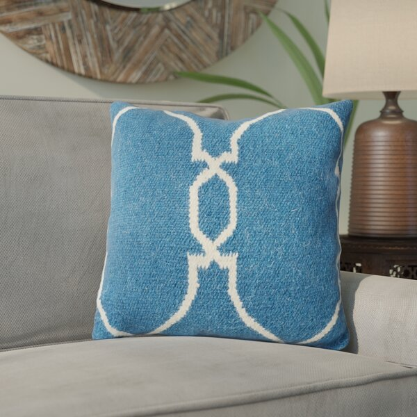 Burntwood Throw Pillow by Three Posts