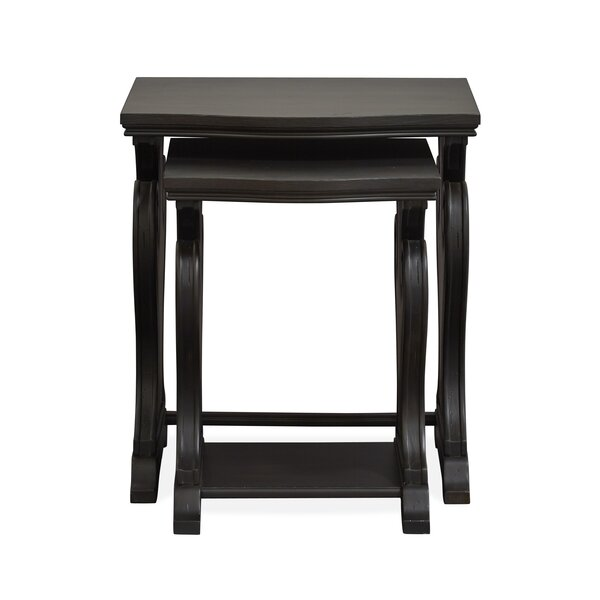 Monroe 2 Piece Nesting Tables by Canora Grey