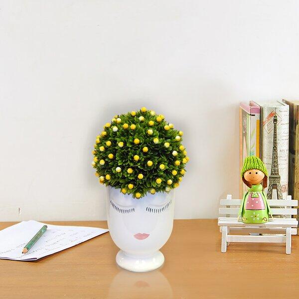 Mini Lemon Topiary by House of Hampton