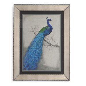 U0027Peacock Blue Iu0027 Framed Print. U0027