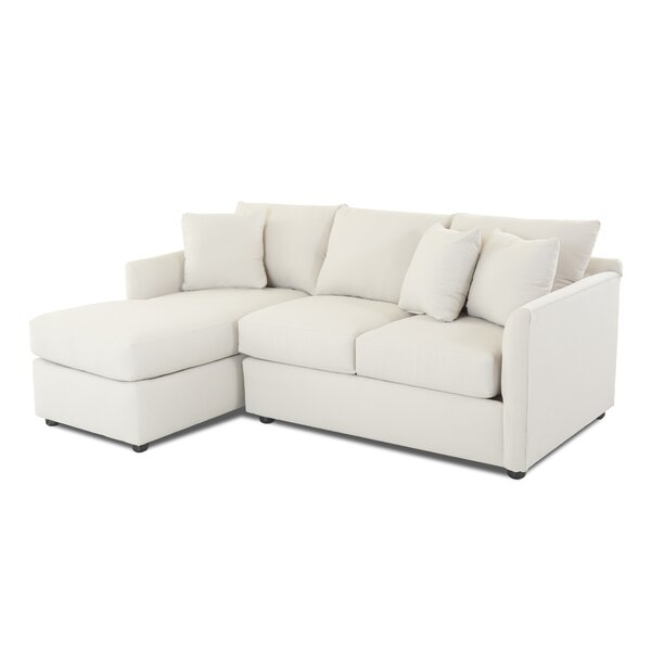Sectional With Chaise By Wayfair Custom Upholstery™