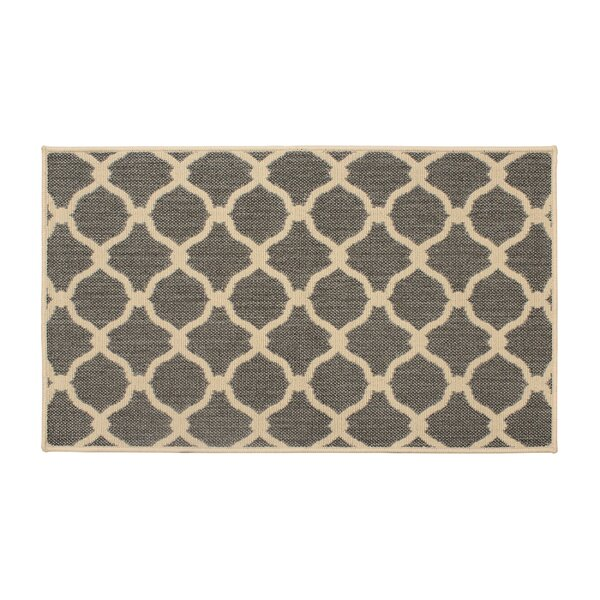 Jaya Arietta Gray Indoor/Outdoor Area Rug by Laura Ashley Home