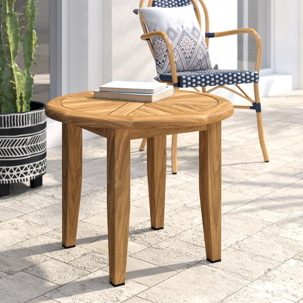 Tibbitts Solid Wood Side Table by Mistana