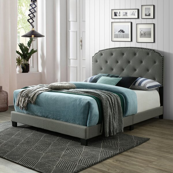 Rodulf Queen Upholstered Standard Bed by Winston Porter