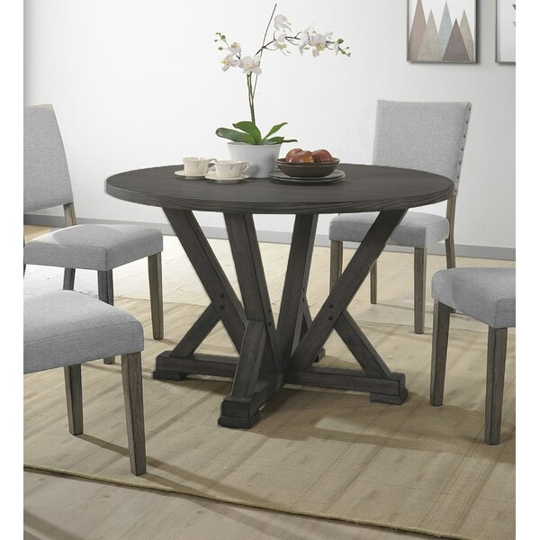 Batey Solid Wood Dining Table Gracie Oaks BMFR2157