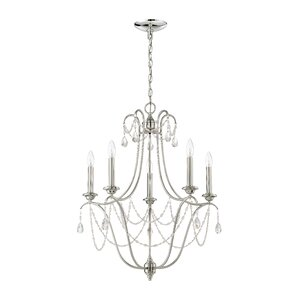 Edelina 5-Light Candle-Style Chandelier