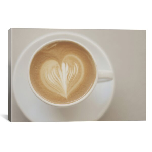 A Latte Love Photographic Print on Wrapped Canvas by Red Barrel Studio