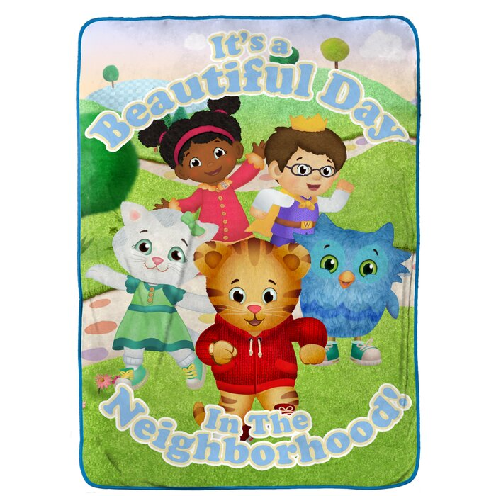 Daniel Tiger Treehouse Pals Blanket