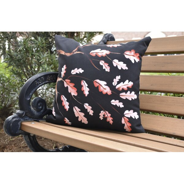 Lantana Wild Oak Branch Outdoor Throw Pillow by Winston Porter