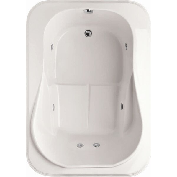 Designer Cassi 60 x 42 Soaking Bathtub by Hydro Systems