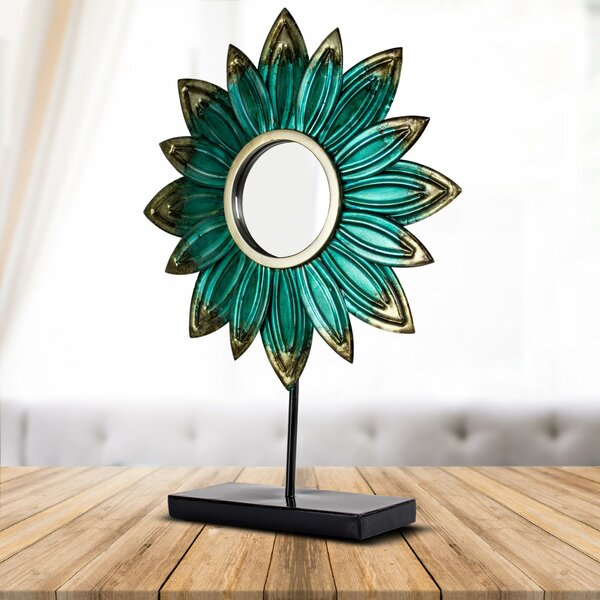 Raymund Daisy Accent Mirror by Latitude Run