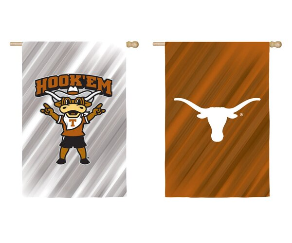 NCAA 2-Sided Vertical Flag by Team Sports America
