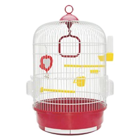 Living World Bird Cage with 2 Perches by Living World by Hagen