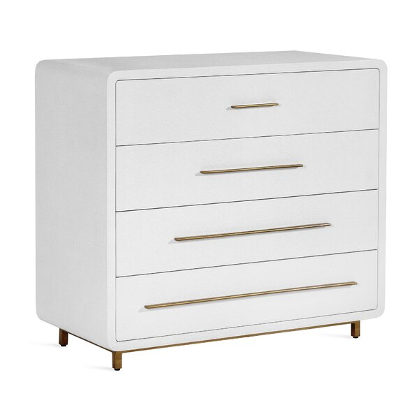 Alma 4 Drawer Dresser by Interlude