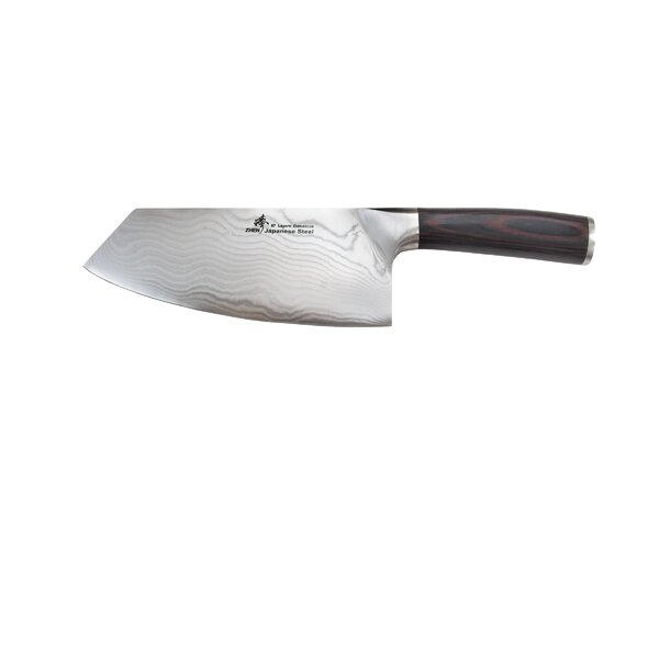 VG-10 Damascus Series 67-Layer 7 Vegetable Chopping Knife/Cleaver by Zhen