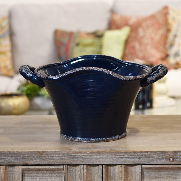 Ceramic Pot Planter by Urban Trends