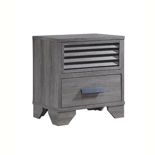 Serafin 2 Drawer Nightstand By Millwood Pines